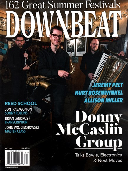DownBeat Cover - 5/1/2016