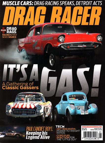 Drag Racer Cover - 5/1/2016