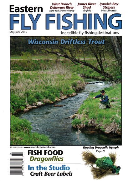 Eastern Fly Fishing Cover - 5/1/2016