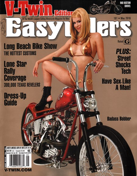 Easyriders Cover - 5/1/2016