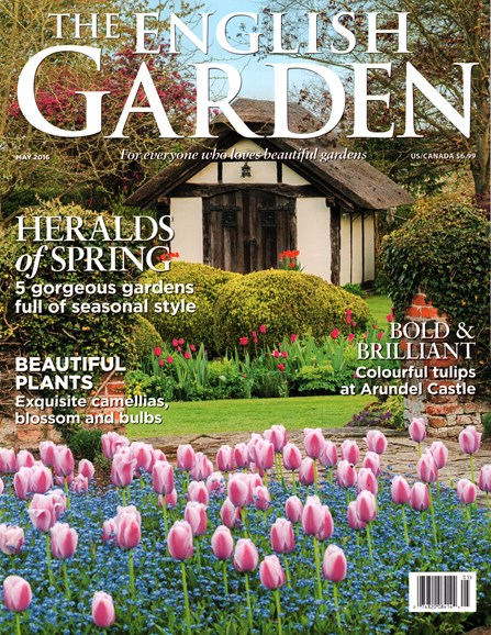 The English Garden Cover - 5/1/2016