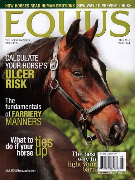 Equus Cover - 5/1/2016