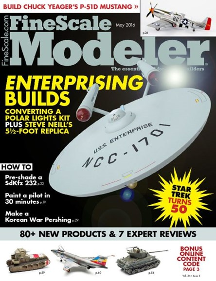 Finescale Modeler Cover - 5/1/2016