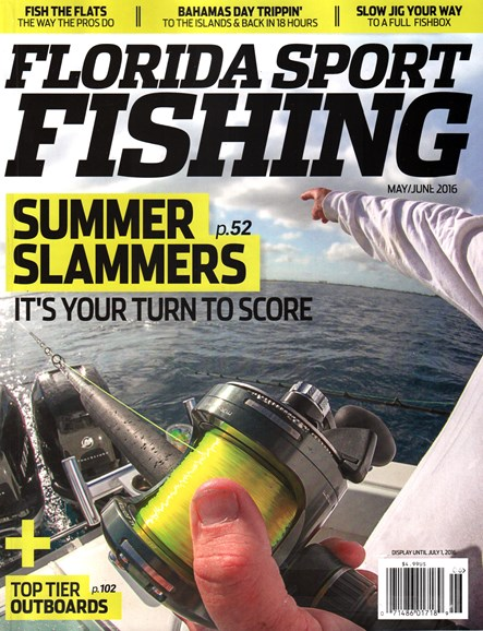 Florida Sport Fishing Cover - 5/1/2016