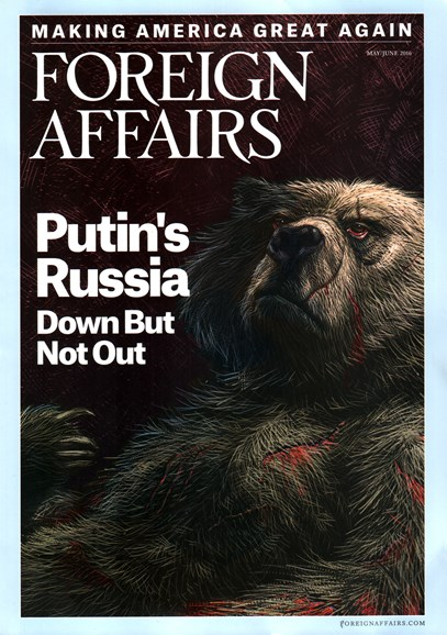Foreign Affairs Cover - 5/1/2016