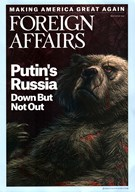 Foreign Affairs Magazine 5/1/2016
