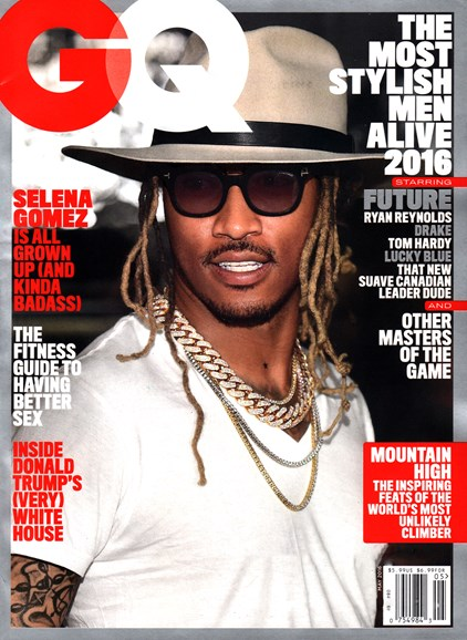 Gentlemen's Quarterly - GQ Cover - 5/1/2016