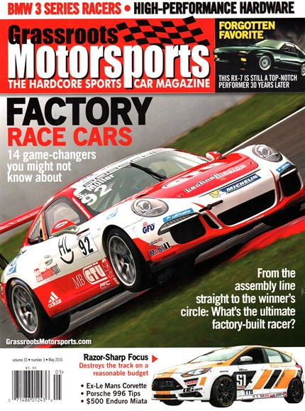 Grassroots Motorsports Cover - 5/1/2016