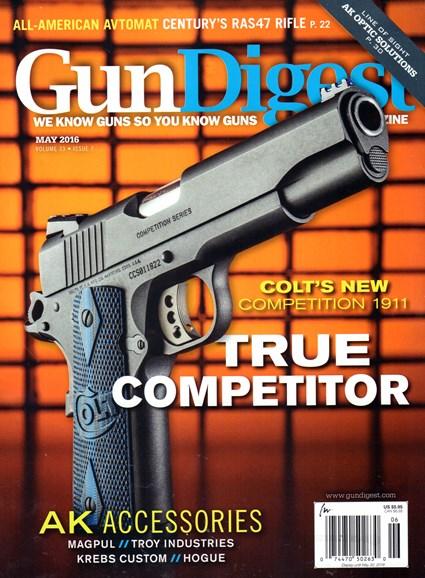 Gun Digest Cover - 5/1/2016