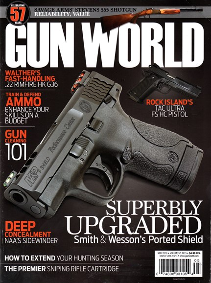 Gun World Cover - 5/1/2016