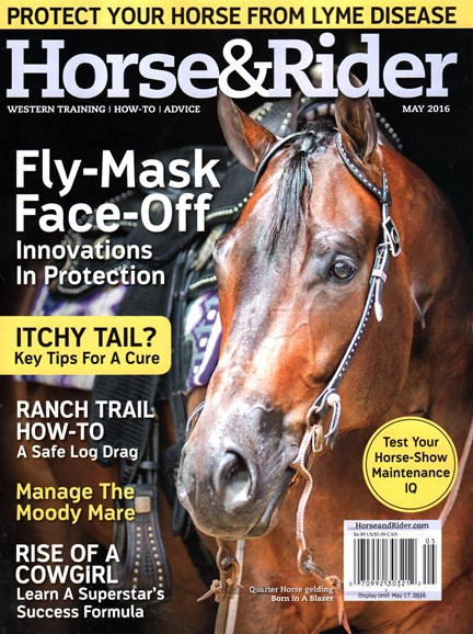 Horse & Rider Cover - 5/1/2016