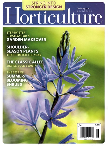 Horticulture Cover - 5/1/2016