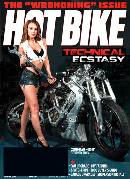 Hot Bike Cover - 5/1/2016