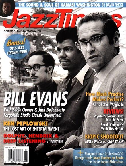 JazzTimes Cover - 5/1/2016