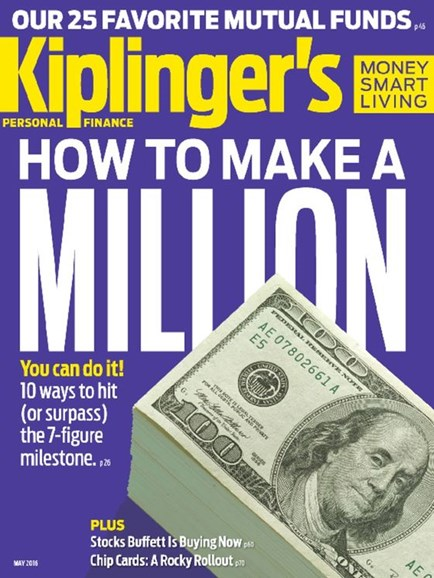 Kiplinger's Personal Finance Cover - 5/1/2016