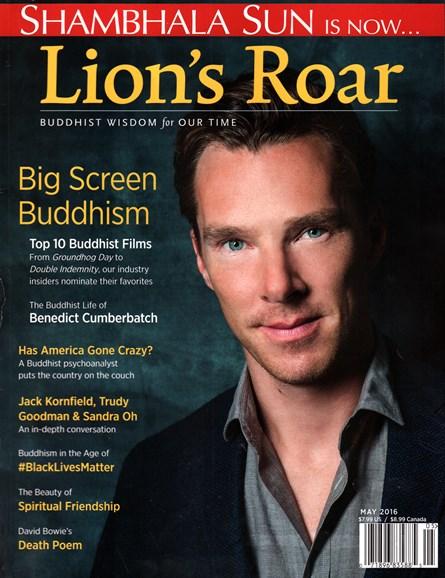Lion's Roar Cover - 5/1/2016