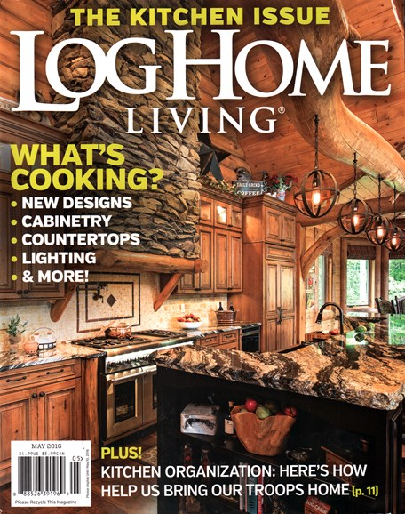 Log Home Living Cover - 5/1/2016