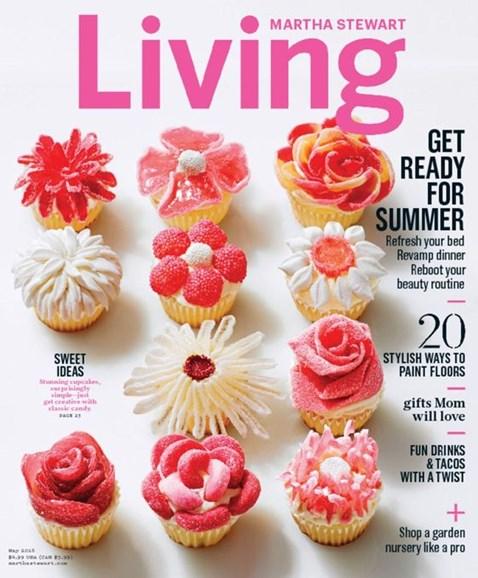 Martha Stewart Living Cover - 5/1/2016
