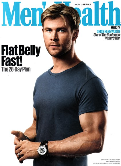 Men's Health Cover - 5/1/2016