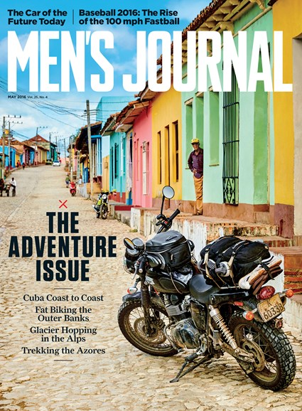 Men's Journal Cover - 5/1/2016