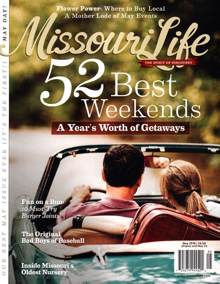Missouri Life Cover - 5/1/2016