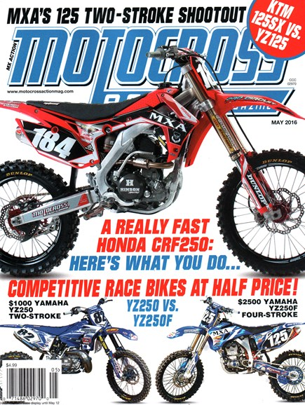 Motocross Action Cover - 5/1/2016
