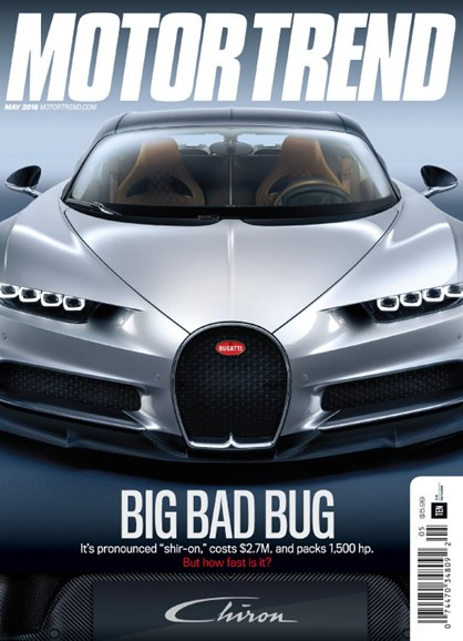 Motor Trend Cover - 5/1/2016