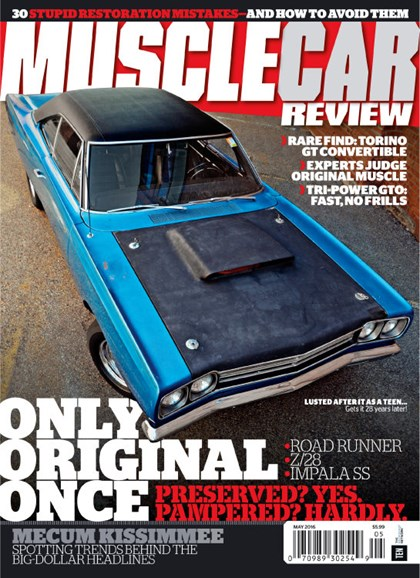 Muscle Car Review Cover - 5/1/2016