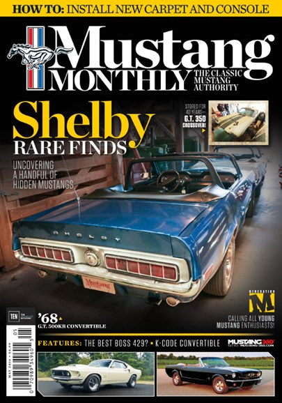 Mustang Monthly Cover - 5/1/2016
