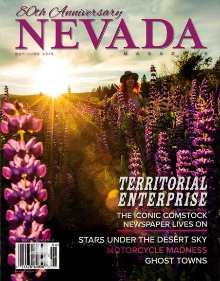 Nevada Magazine Cover - 5/1/2016