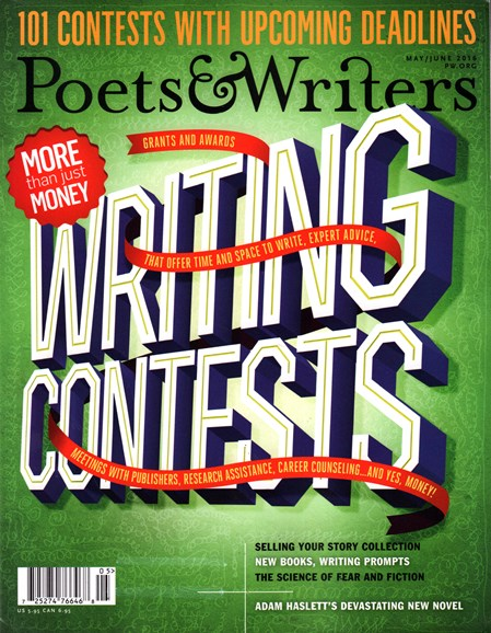 Poets & Writers Cover - 5/1/2016