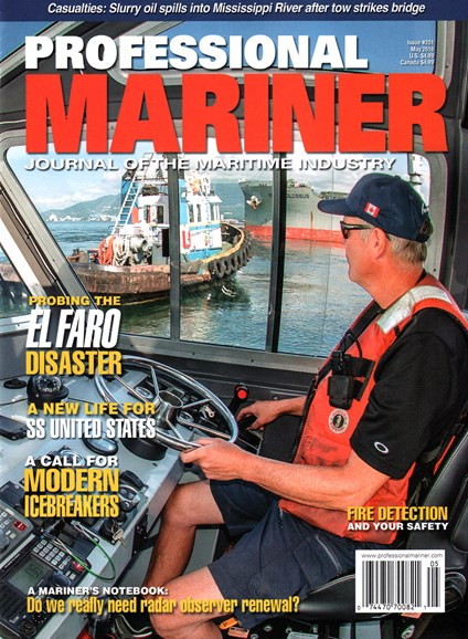 Professional Mariner Cover - 5/1/2016