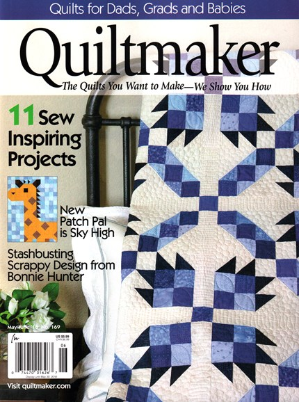 Quiltmaker Cover - 5/1/2016