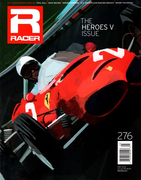 Racer Cover - 5/1/2016