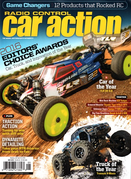 Radio Control Car Action Cover - 5/1/2016