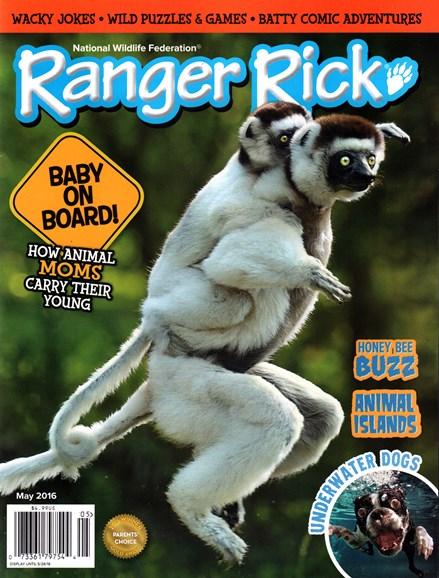 Ranger Rick Cover - 5/1/2016