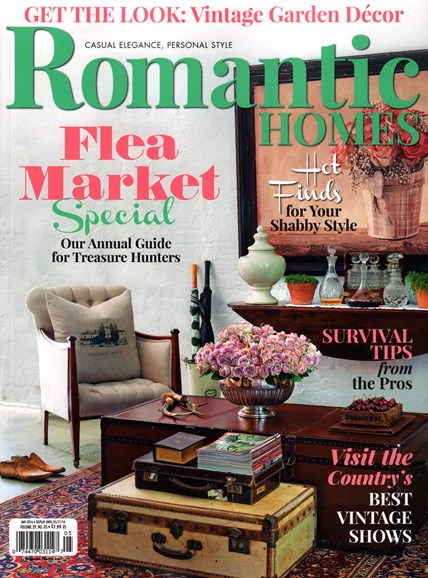 Romantic Homes Cover - 5/1/2016