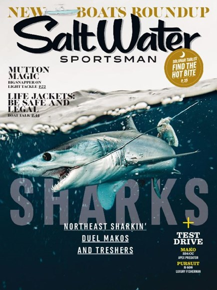Salt Water Sportsman Cover - 5/1/2016