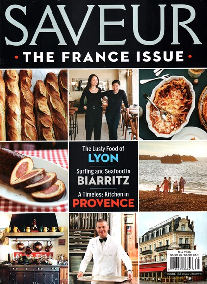 Saveur Cover - 5/1/2016