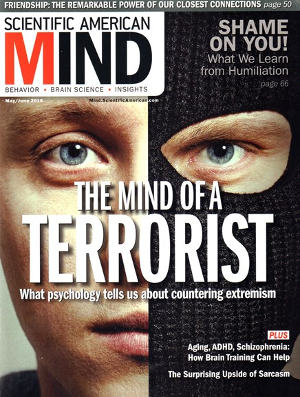 Scientific American Mind Cover - 5/1/2016