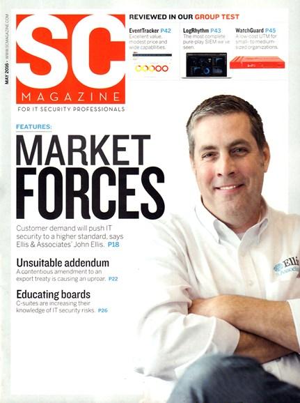 SC Magazine - U.S. edition Cover - 5/1/2016