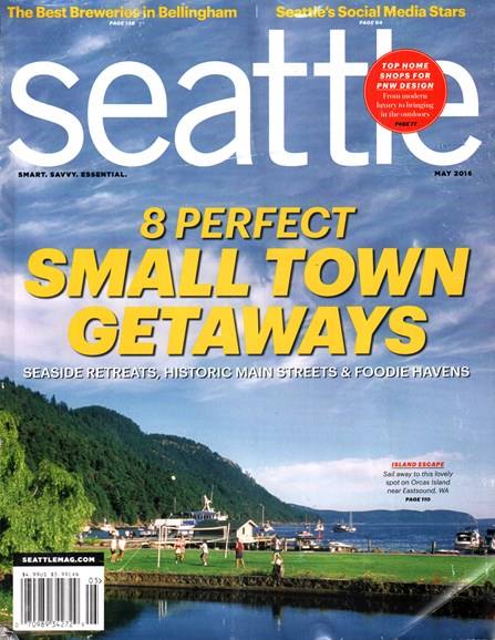 Seattle Magazine Cover - 5/1/2016