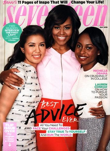 Seventeen Cover - 5/1/2016