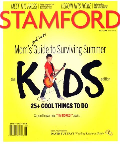 Stamford Magazine Cover - 5/1/2016