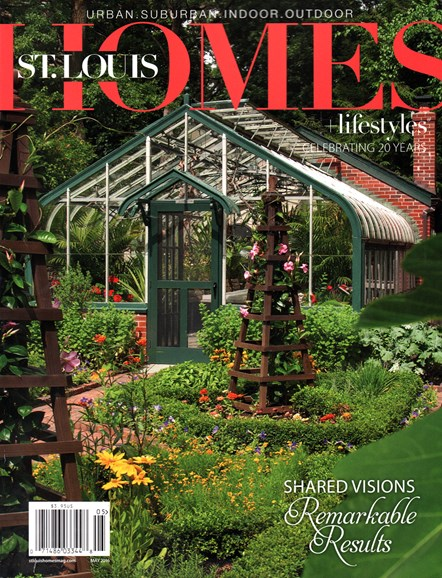 St. Louis Homes & Lifestyles Cover - 5/1/2016