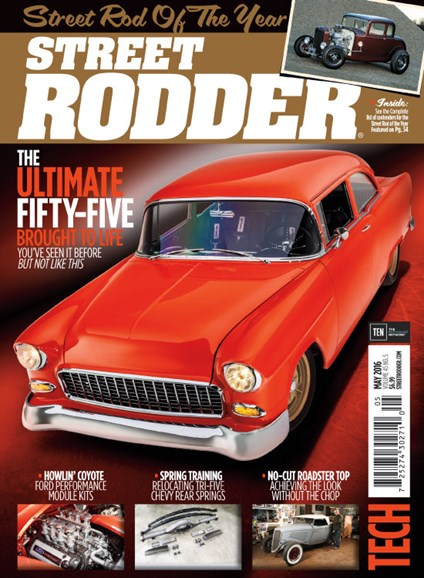 Street Rodder Cover - 5/1/2016