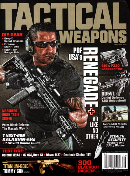 Tactical Life Cover - 5/1/2016
