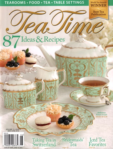 Tea Time Cover - 5/1/2016