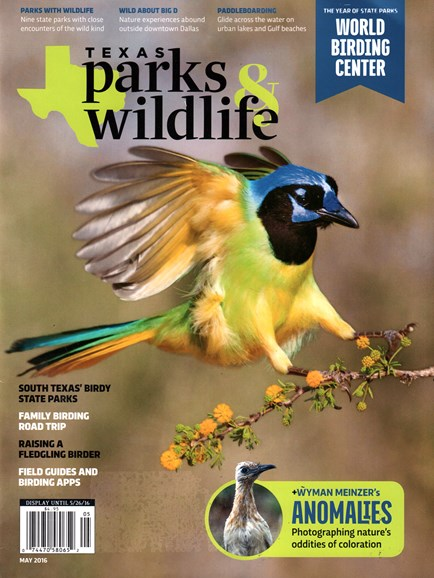 Texas Parks & Wildlife Cover - 5/1/2016