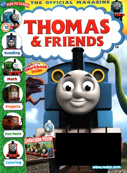 Thomas & Friends Cover - 5/1/2016